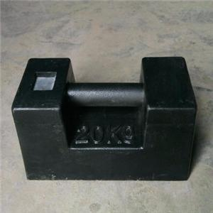 Customized cast iron counterweight