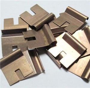 Customized brass bronze plating metal stamping parts