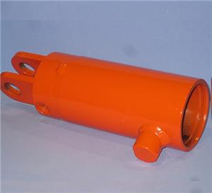 Machined steel cylinder body