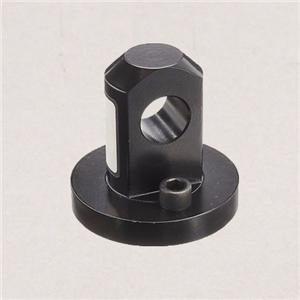 Machined steel hydraulic cylinder end cap