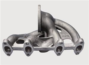 precision casting steel manifold for automotive