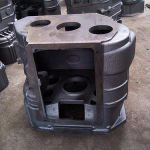 Cast iron and CNC machined gear box