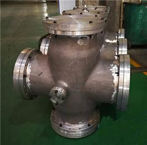Metal-enclosed Gas-insulated switchgear aluminium housing