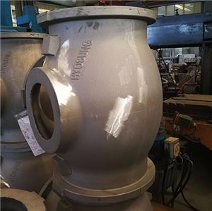 GIS aluminium casting housing