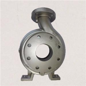 Stainless steel casting pump housing