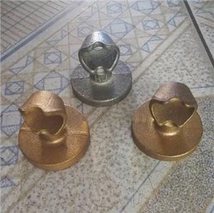 Bronze casting terminal cap