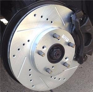 CNC Machined Auto Brake Disc