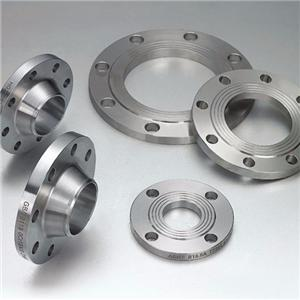 Machined carbon steel flange