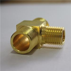 High Quality brass TEE joint fitting part