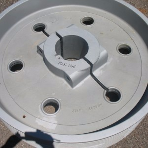 Ductile iron casting pulley wheel