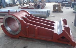 Big cast iron cast steel part for mining equipment