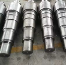 Forged and machined steel drive shaft
