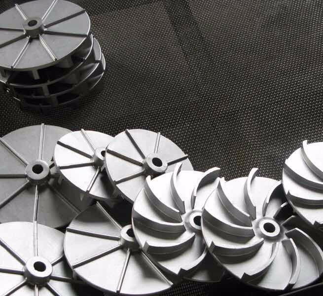 Stainless steel 316 pump impeller