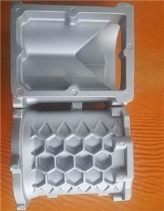 China made customized cast aluminium casing