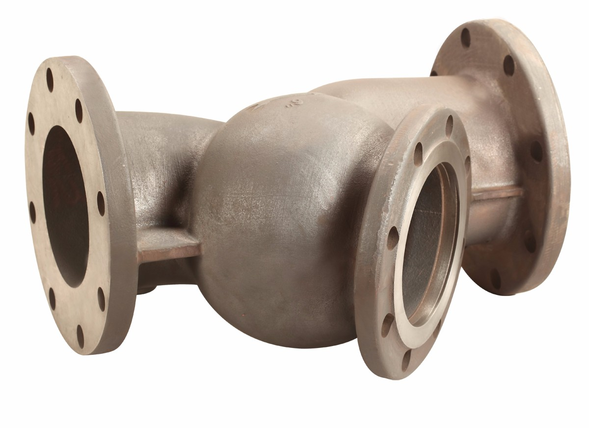 ductile iron casting check valve body, check valve casing