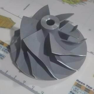 Turbocharger aluminium machined/casting turbine impeller