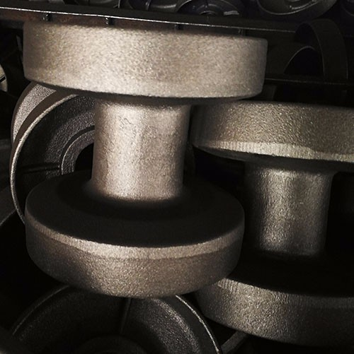Cast iron undercarriage parts for car