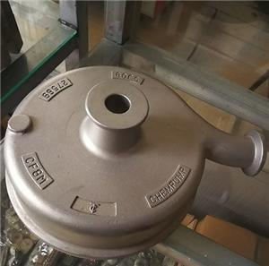Stainless steel casting pump housings