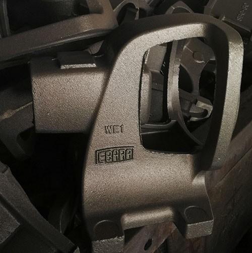 Automatic casting line production for cast iron parts