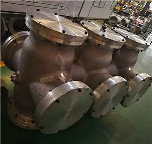 Gas-insulated switchgear aluminium housing