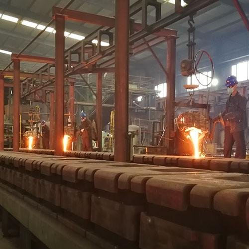 China cast iron automatic molding line