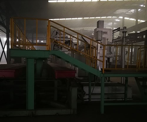 Advantages of cast iron automatic molding line