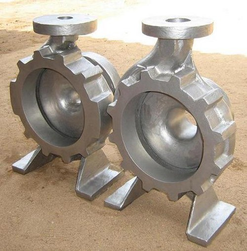 Foundry key product - cast iron pump housing, pump body