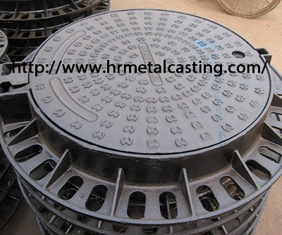 Manhole cover comparison by grey iron casting and ductile iron casting