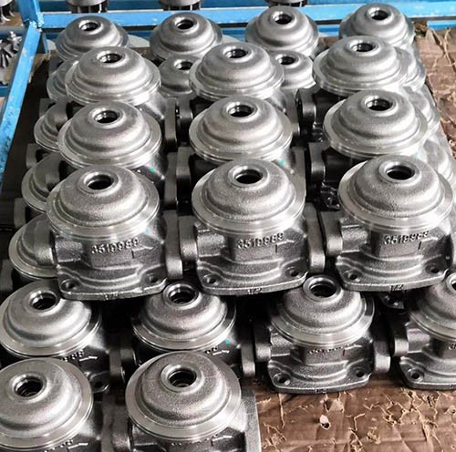 China Foundry cast iron turbocharger intermediate part