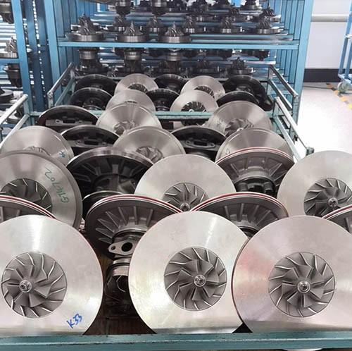 China factory turbocharger aluminium impeller
