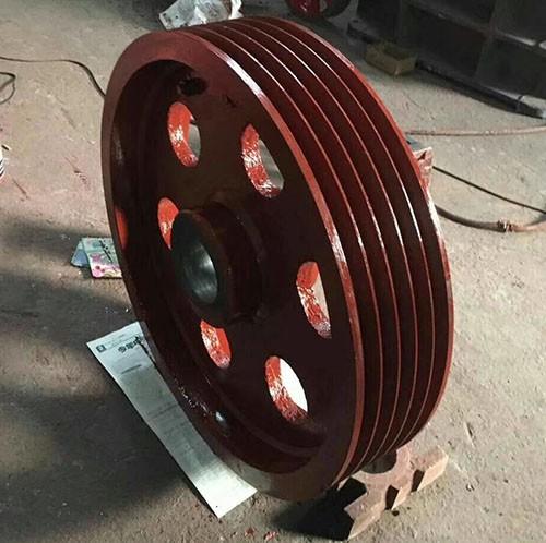 China iron foundry - iron casting flywheel