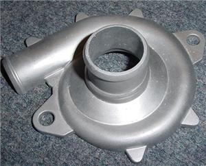 Aluminium casting turbine compressor housing