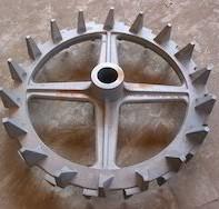 Iron castings - cast iron tractor parts, pump parts, valve parts