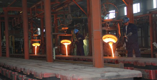 What equipments are we using for iron casting?