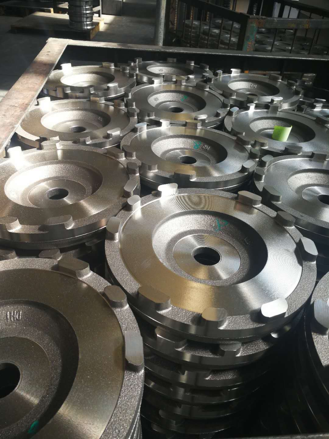 High quality automotive cast iron and machined part