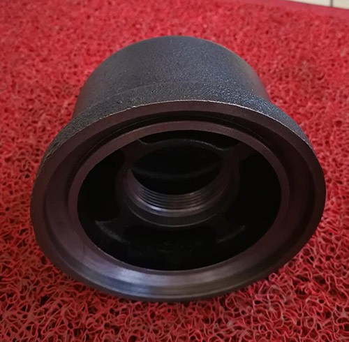 Customized small cast grey iron cap part