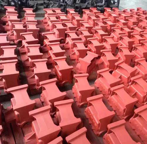 Cast iron valve body order ready to be delivered to Europe