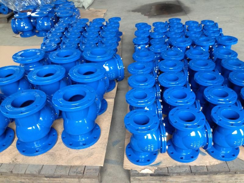 China Iron foundry Cast iron check valve body