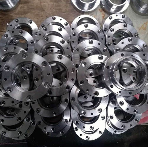 CNC machined stainless steel bearing housing