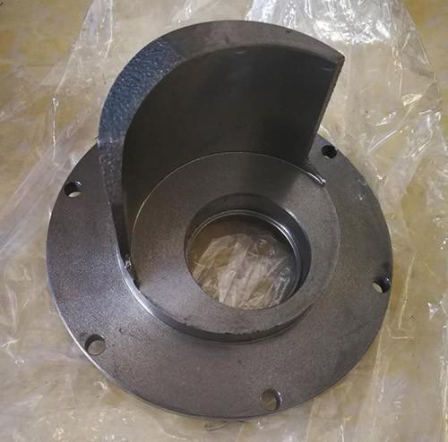 CNC machined pump cartridge, pump housing, and pump cover