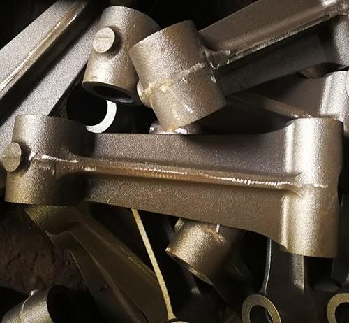 Cast iron ductile iron grey iron Caterpillar connecting rod