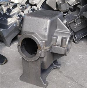 Cast Steel gearbox housing cast iron pump housing
