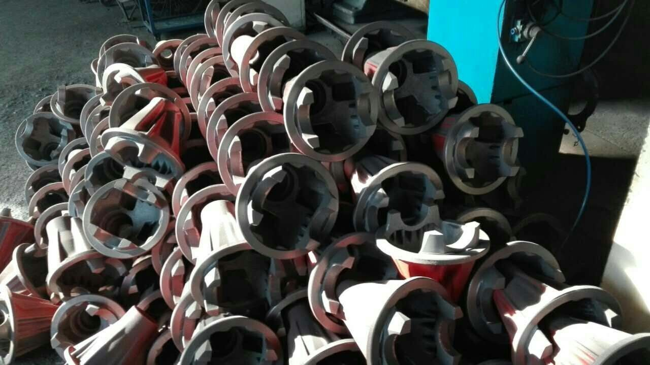 Ductile iron agricultural machinery parts
