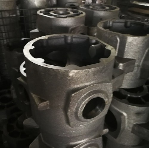 High quality cast iron housing parts