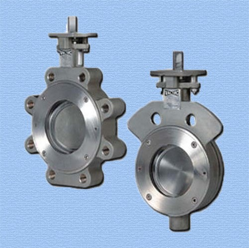 Cast Ductile iron casting butterfly valve body