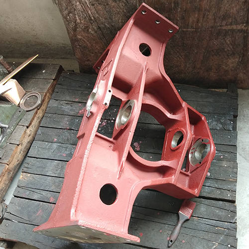 ductile iron tractor parts