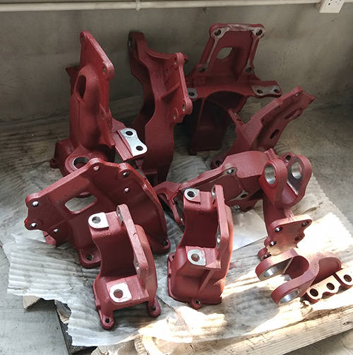 cast iron tractor parts