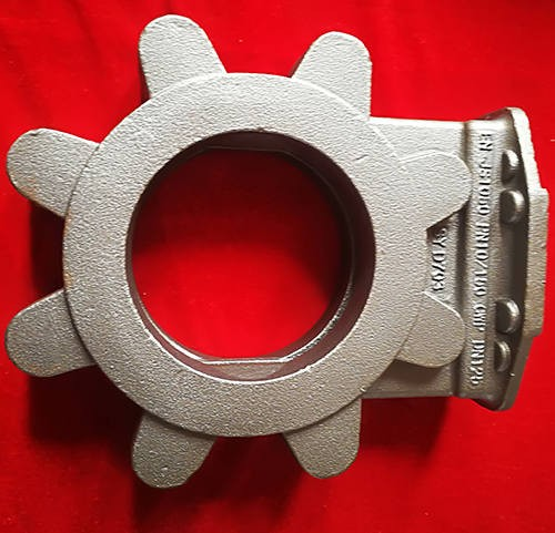 Customized ductile iron casting parts