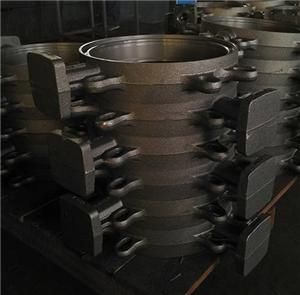 Customized Ductile Iron Butterfly Valve Body