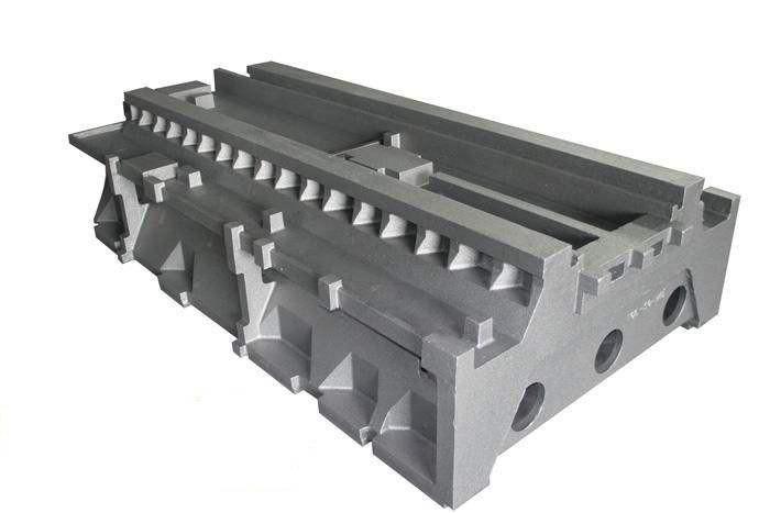 Cast Iron CNC Machine Parts, Lathe Bed Casting